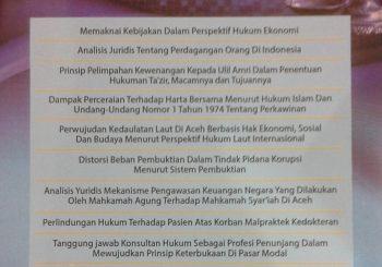Jurnal Hukum Samudra Keadilan Edisi Tahun 2015