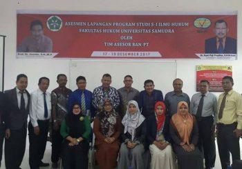 Fakultas Hukum Menerima Kunjungan Assesor BAN-PT